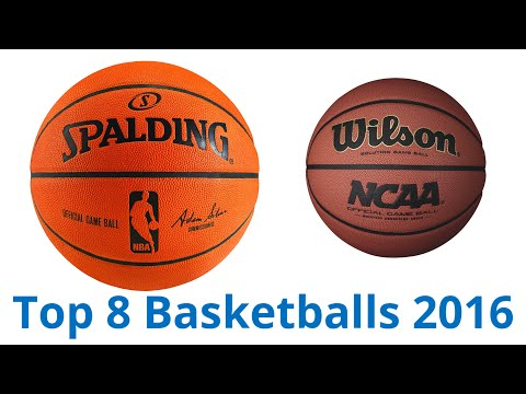 8 Best Basketballs 2016