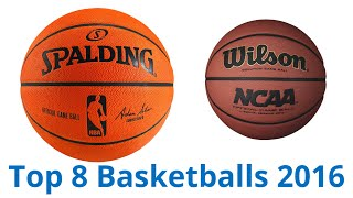 8 Best Basketballs 2016