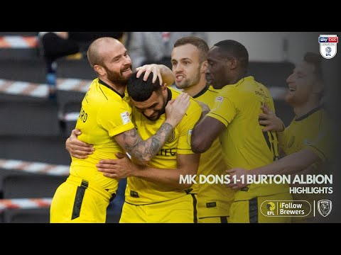 Milton Keynes Burton Goals And Highlights