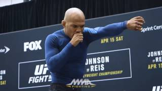 UFC on FOX 24: Wilson Reis Open Workout (Complete) – MMA Fighting