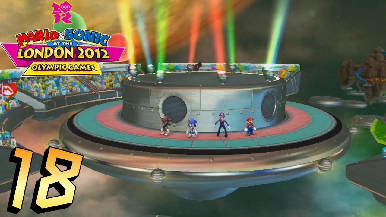 Sonic Team 2012 Sonic London And Mario