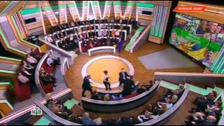 Драка на НТВ (прямой эфир.Место встречи) Осташко дал в челюсть Мацейчуку.Бойко тоже не сдержалась.