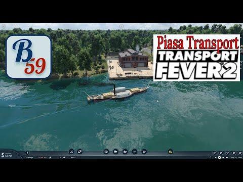 Piasa Transport Ep 2 - MOAR BARGES!