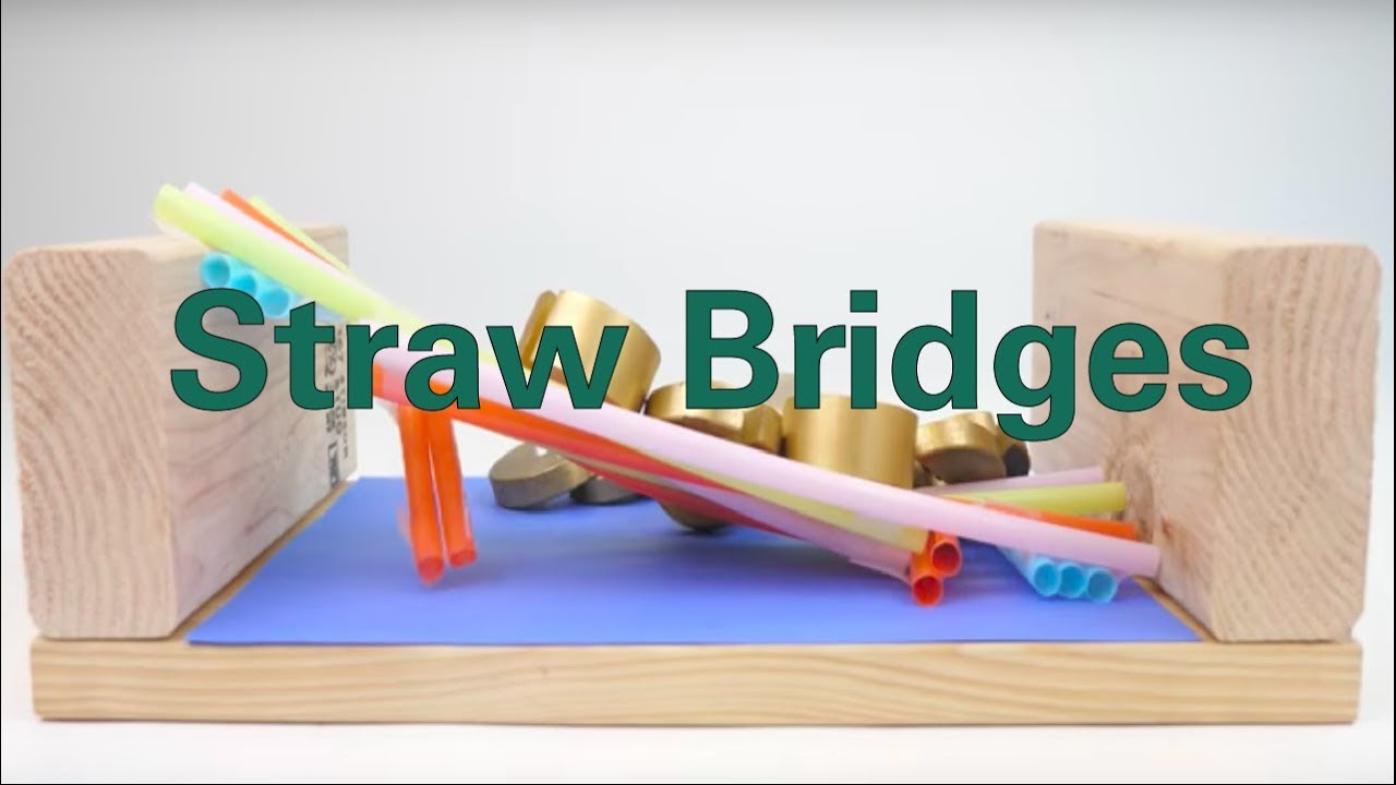 Straw Bridges - Activity - TeachEngineering