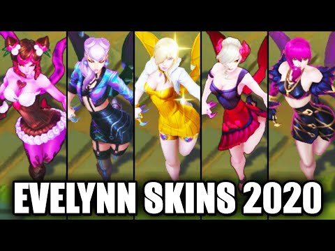 All Evelynn Skins Spotlight 2020 (League of Legends)