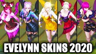 All Evelynn Skins Spotlight 2020 (League of Legends)