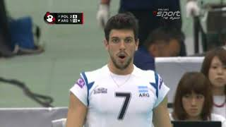 Men's volleyball World Cup 2011 Poland - Argentina part 5/6