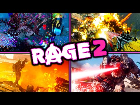 RAGE 2 - 5+ Hours Of Experience - What's It Like? - POST APOCALYPTIC - OPEN WORLD - FPS - VEHICLES thumbnail