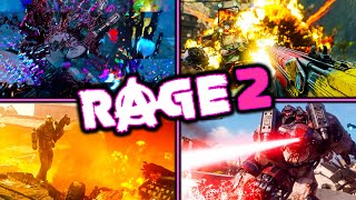 RAGE 2 - 5+ Hours Of Experience - What's It Like? - POST APOCALYPTIC - OPEN WORLD - FPS - VEHICLES