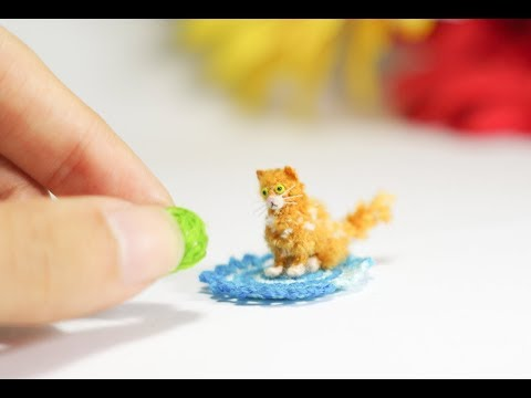 UNIQUE TINY LAPERM CAT - MADE TO ORDER - HAGIMI