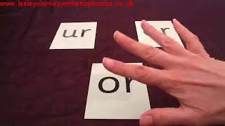 Letters and Sounds Phase 3: Week 6: Touch The Grapheme