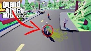 تابز على طريقة قراند بس اضافو سلاح سري للغايه!! Dude Simulator GTA5