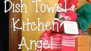 Dish Towel Kitchen Angel  - Vintage Craft(, 2015-12-06T02:30:41.000Z)