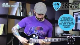 Lick 22/365 - Disharmonic Intervals in Am | 365 Guitar Licks Project