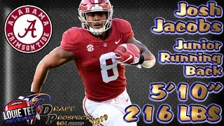2019 NFL Draft Prospects 101 | Film Session | RB Josh Jacobs