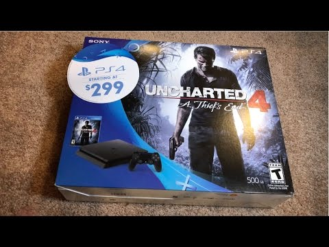 Unboxing The PS4 Slim 500GB Uncharted 4 Bundle