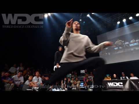 RUSH BALL vs Les Twins FINAL HIPHOP WDC 2019 World Dance Colosseum #WDC