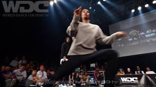 RUSH BALL vs Les Twins FINAL HIPHOP WDC 2019 World Dance Colosseum #WDC