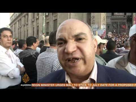 Egyptians protest against Muslim Brotherhood