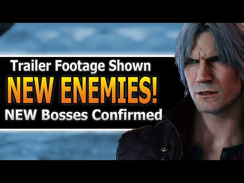 NEW Devil May Cry 5 Trailer Revealed! | Devil May Cry 5 Trailer thumbnail