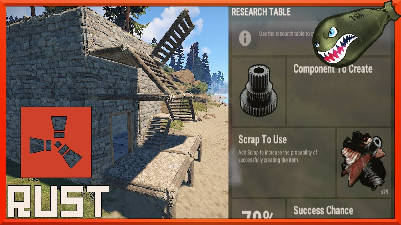how to get scraps rust