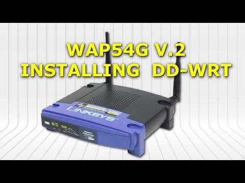 Linksys WAP54g V.2 Dd-wrt Firmware Upgrade (Tftp Method)   WAP54g على الراوتر Dd-wrt تثبيت السوفت
