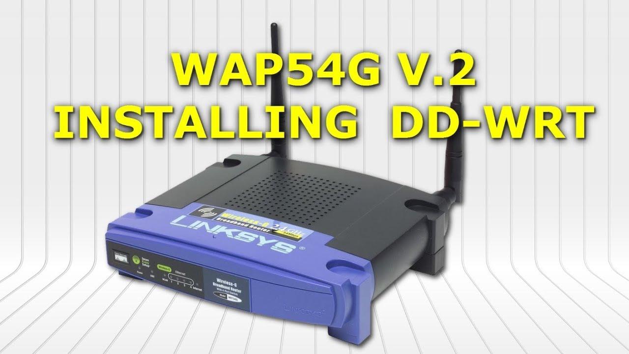 Wag54g firmware update