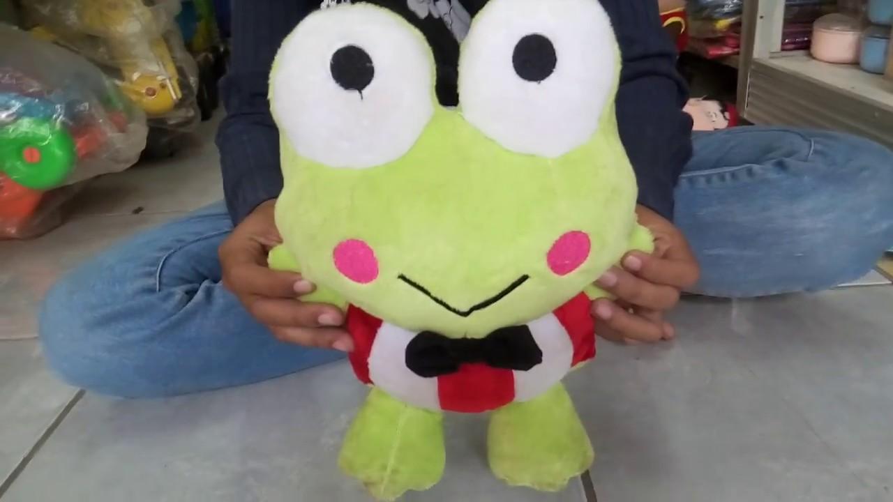 A Funny Keropi Doll Boneka Keroppi High Quality 081212827070 Maainan Doraemoon Kyutt