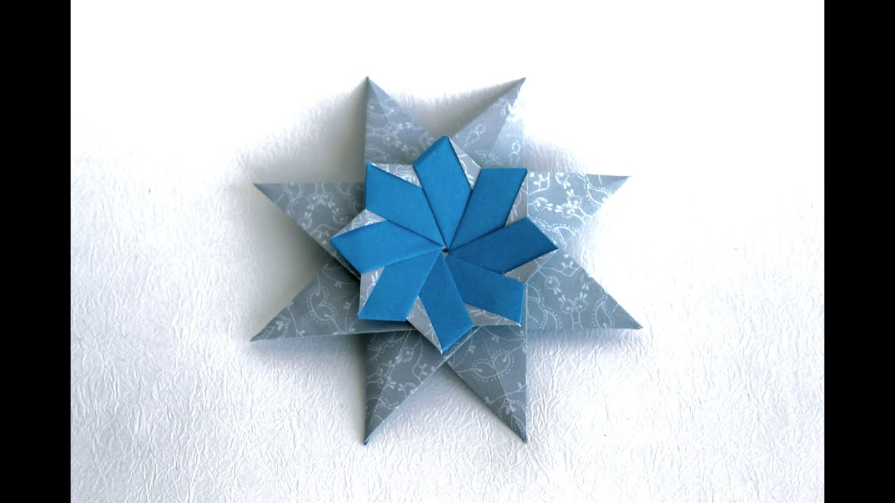 Origami Kalami Star (Tine Pape) - YouTube | 720x1280