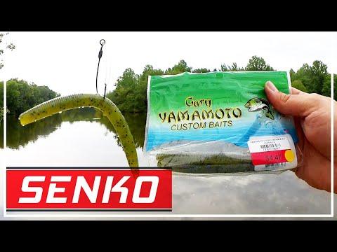 Bass Fishing With A Yamamoto Senko - Realistic Bank Fishing Tips!