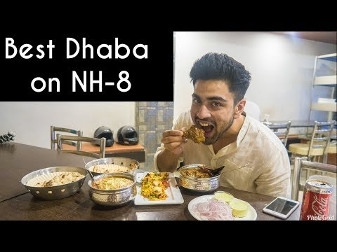 BEST DHABA ON NATIONAL HIGHWAY|STREET FOOD TOUR OF JAIPUR | Dal Makhani, Cold Coffee, Handi Meat