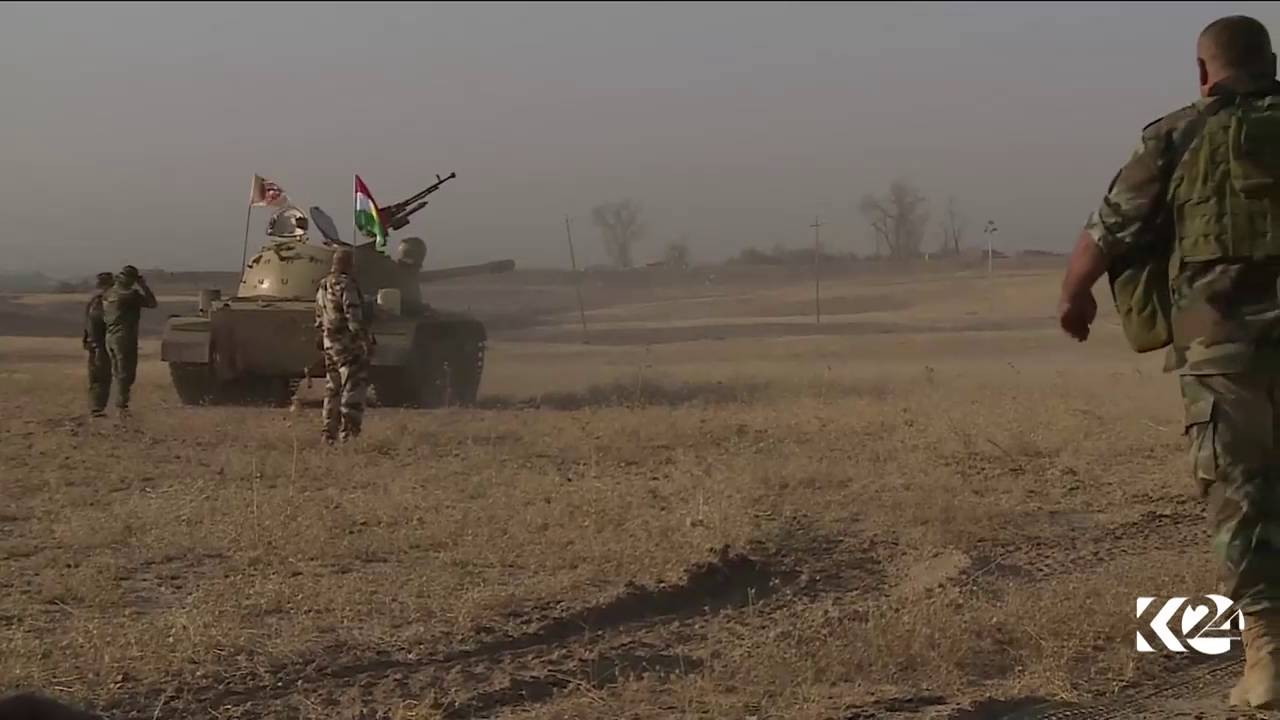 Kurdistan24 EXCLUSIVE: Peshmerga forces advance in southeast Mosul - Khazir Front