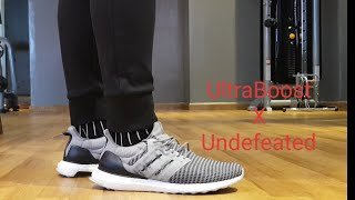 7dfdde8c4 Ultraboost X Undefeated Review Full HD 🇵🇭 👟 🔥 Ultraboost ...