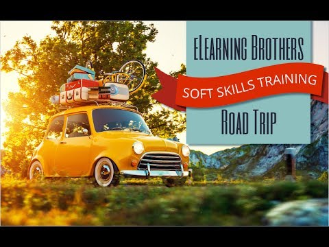 Webinar: eLearning Brothers Soft Skills Training Road Trip