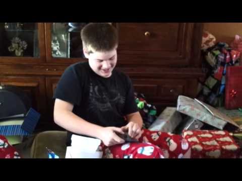 Kid gets his first cell phone