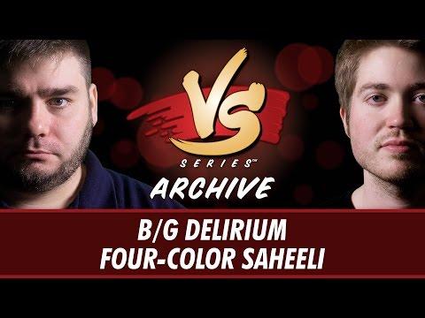 3/27/2017 - Todd VS Michael: B/G Delirium vs Four-Color Saheeli
