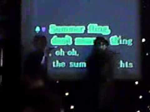 Summer Nights grease, lyrics, karaoke