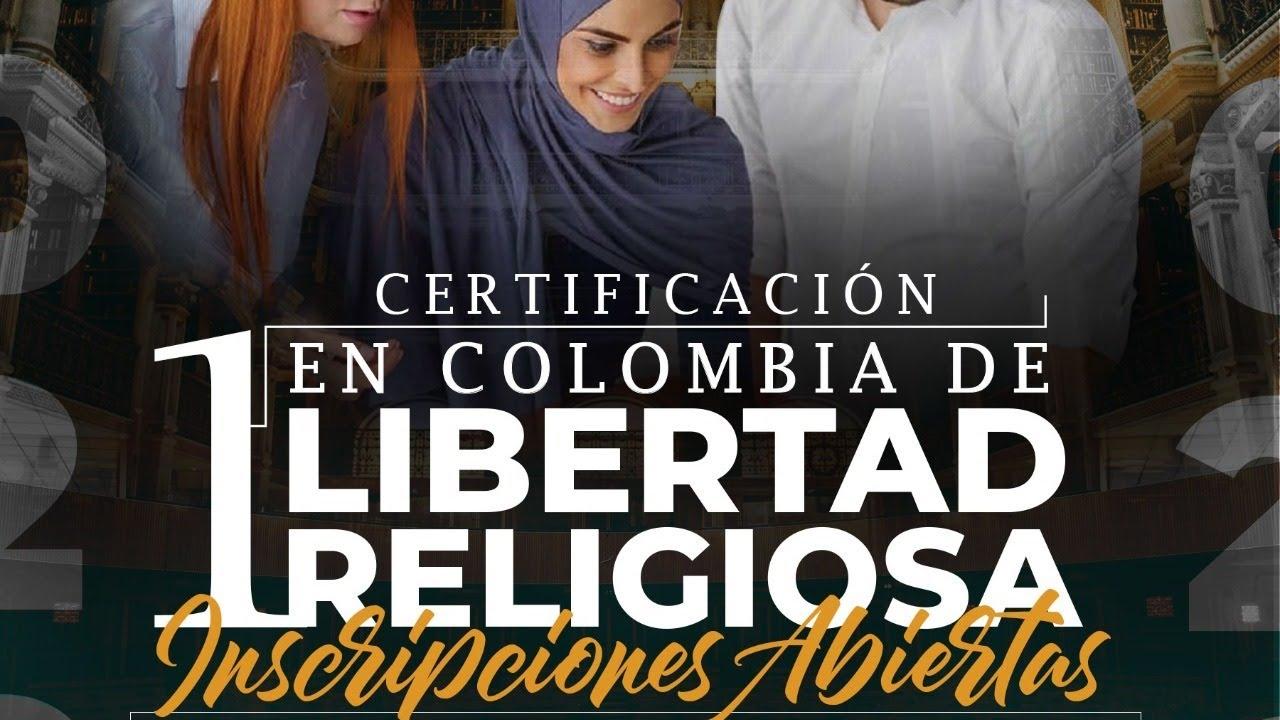 Sesión de bienvenida Certificación en Libertad Religiosa Colombia