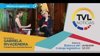 Balance Legislativo - Primer Semestre 2016