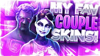 MY FAVORITE COUPLE SKINS - France Fortnite Bataille Royale