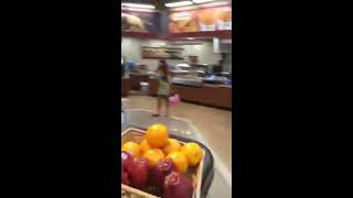 Transgender Woman Goes Wild In Restaurant