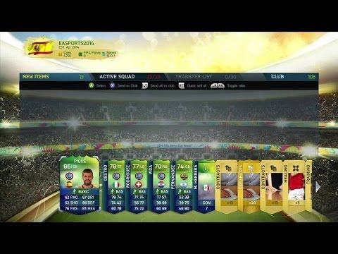 Pack Opening WORLD CUP #1 Ultimate Team FIFA 14 | DjMaRiiO