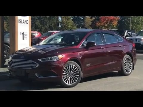 2018 Ford Fusion Energi SE Review |Island Ford