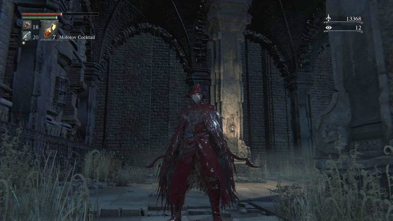 bloodborne blade of mercy old yharnam more blood youtube