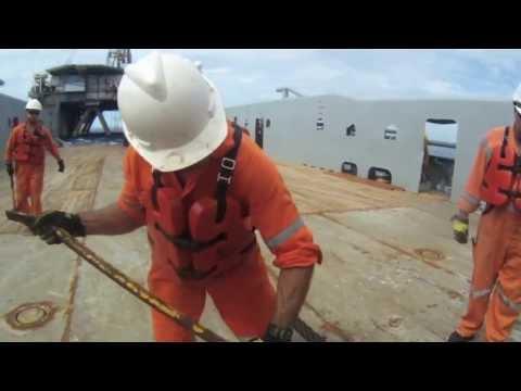 Anchor Handling Offshore Western Australia Coast