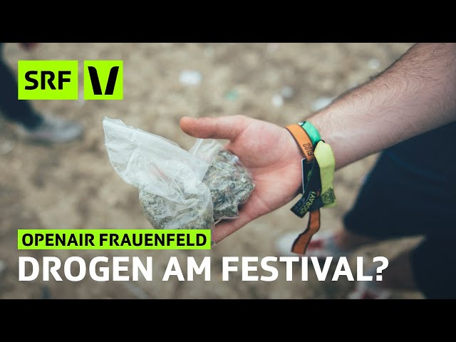 Openair Frauenfeld: Welche Drogen werden am Festival konsumiert? | Festivalsommer 2019 | SRF Virus
