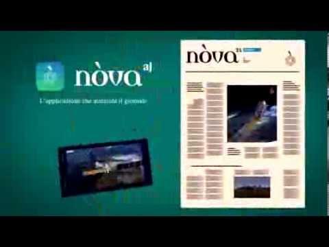 Nòva AJ la nuova applicazione che aumenta il giornale