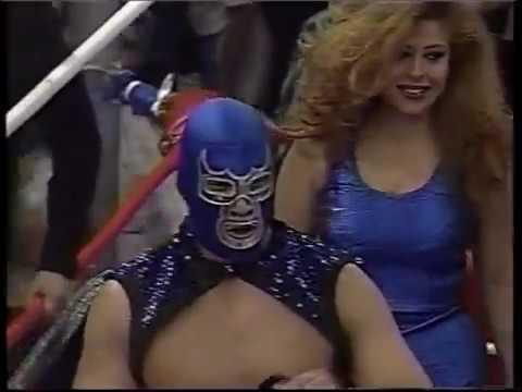 Blue Demon Jr. vs Karis La Momia