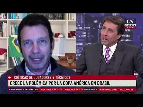 Crece la polémica por la Copa América en Brasil