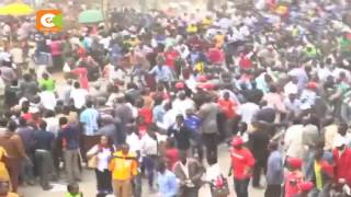 Woman killed in Machakos Mashujaa Day celebrations stampede